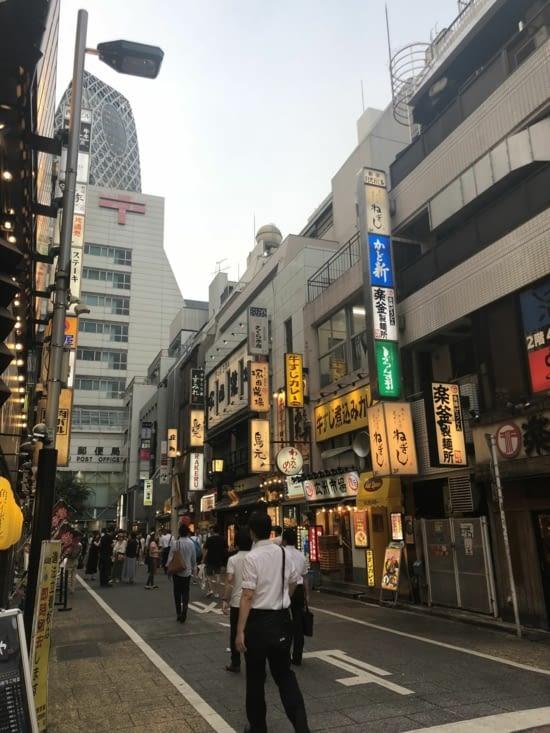 Dans les rues de Shinjuku