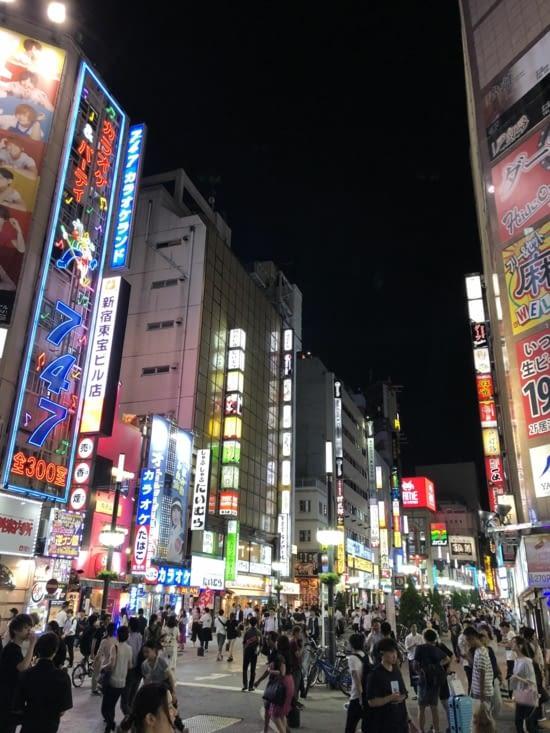 Kabukicho et ses rues animées