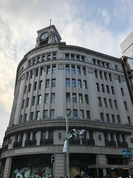 Intersection de Ginza Yonchome