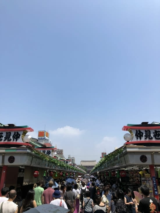 Arcade de boutiques Nakamise