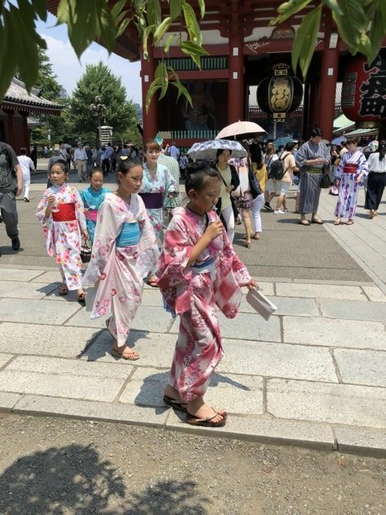 Vêtements traditionnels japonais