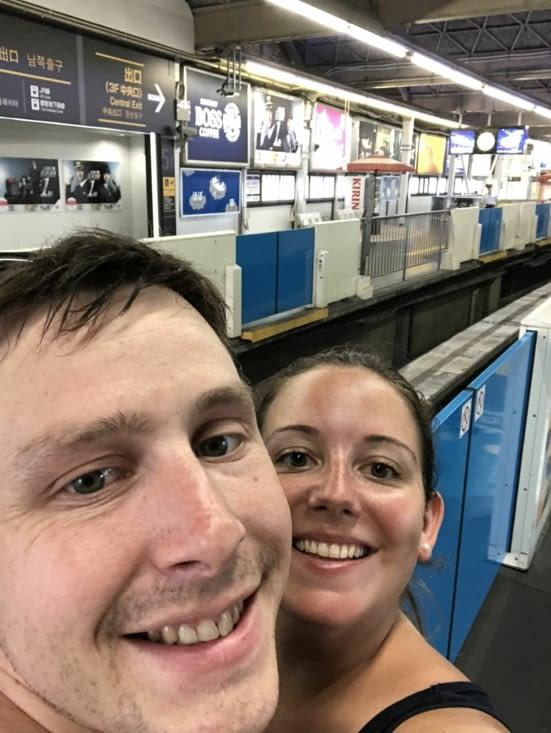 En attente du train monorail :)