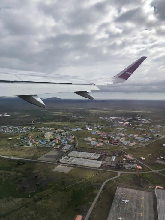 Dernière escale à Reykjavik pour le dernier vol