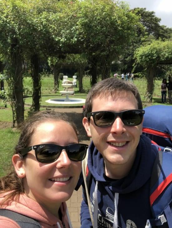 Dans le parc Victoria