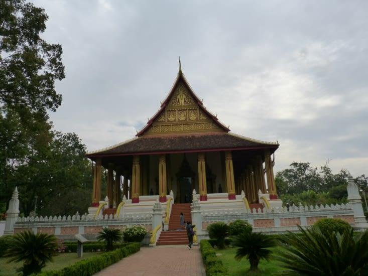 la pagode Ho Pra Keo ou l'autel du  bouddha d'émeraude