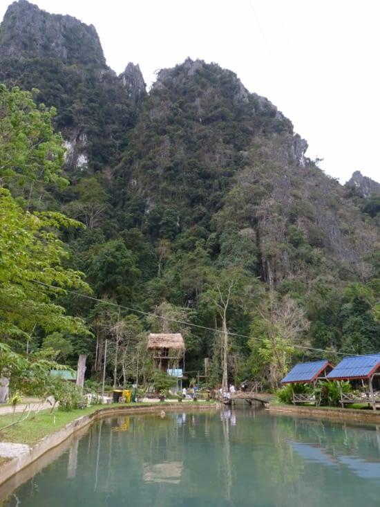 """but de notre rando: le blue lagoon, parc d'activités """"nautiques"""""""