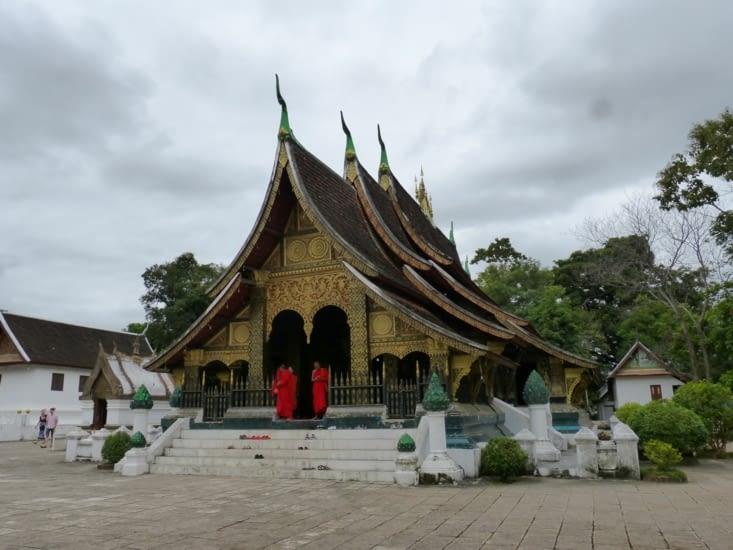 la pagode de Vat Xieng Thong ou pagode de la cité d'or