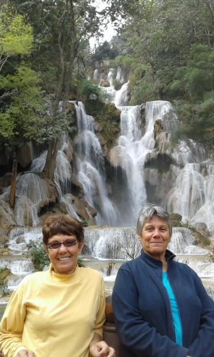 les naïades de la cascade (terrestres)