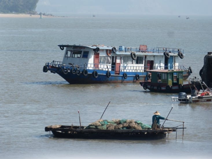 le passage du détroit à Hai Phong