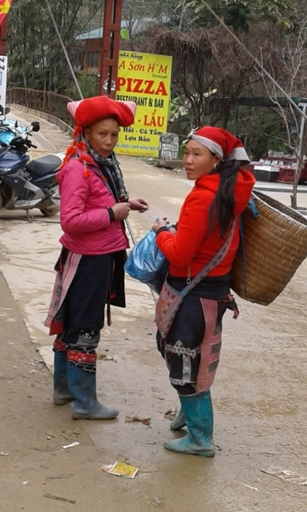 ethnie Dzao rouge