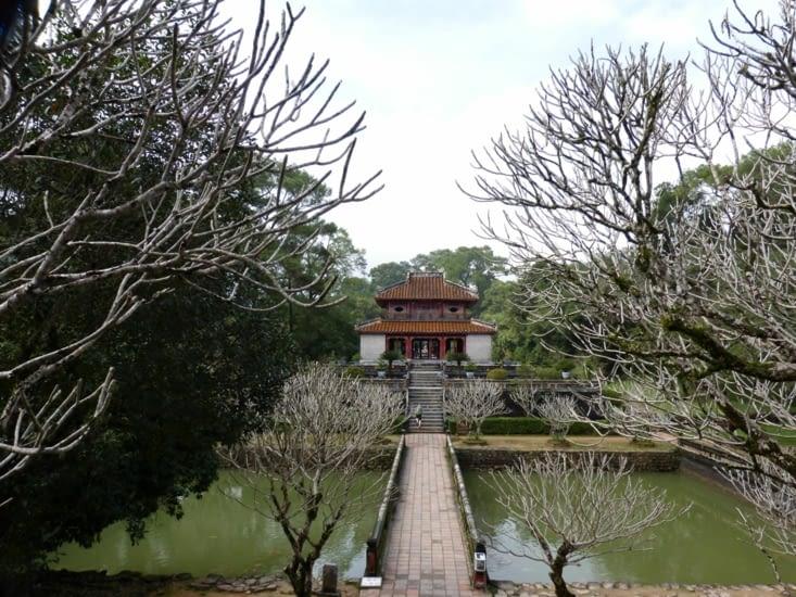 le palais de l'emprereur Minh Mang