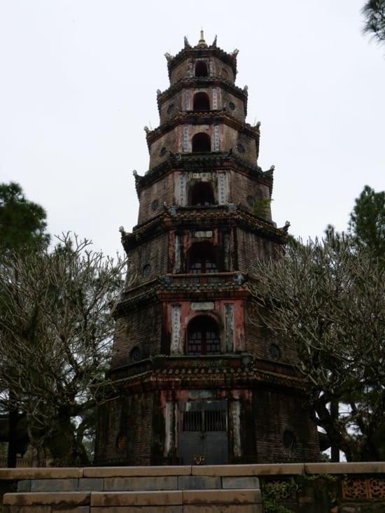 la pagode de Thiem Mu ou la pagode de la dame céleste