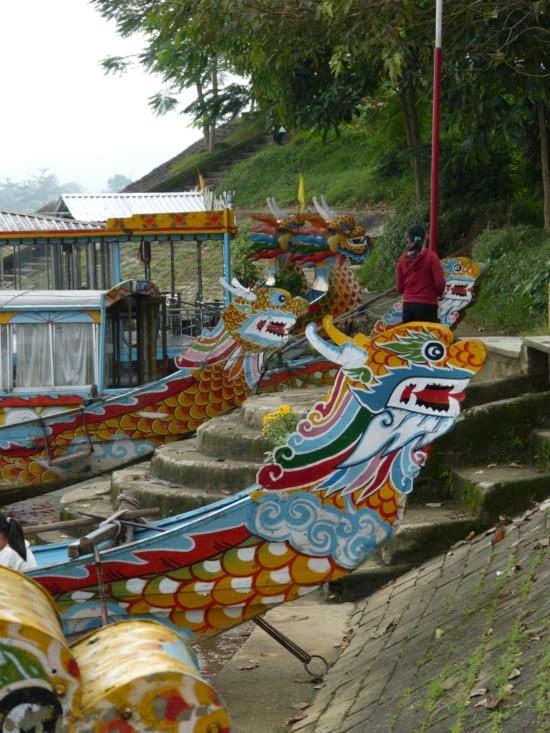 retour en bateau dragon