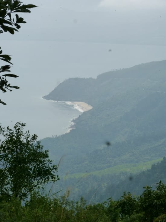 la cote entre Hué et Danang. La route mandarine