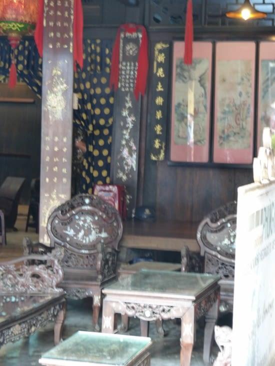 la maison Tan Ky;vietnamienne aux influences japonaise et chinoise.