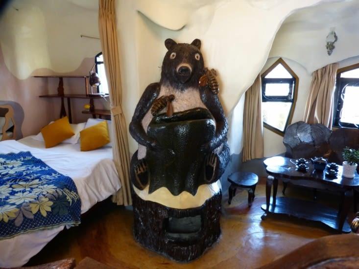 la chambre du 9ième ours
