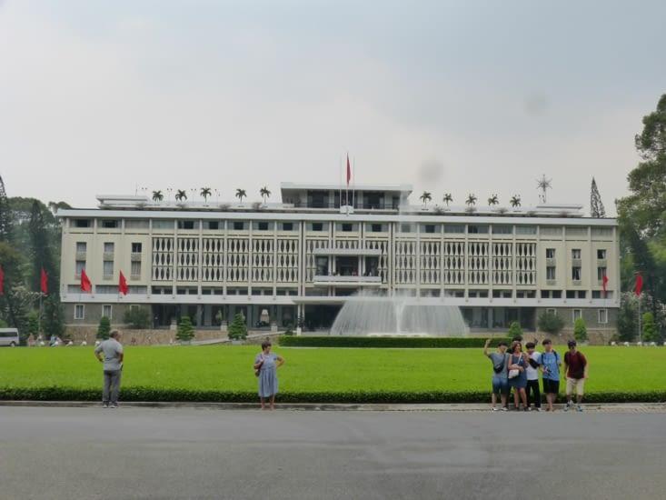 le palais de la réunification. Musée .