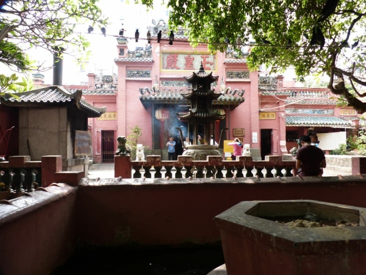 pagode de l'empereur de jade