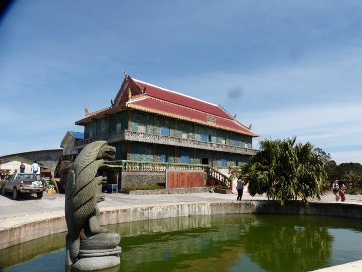 le temple wat......, restauré par l'UNESCO