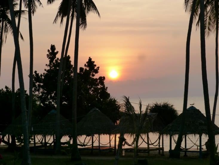 coucher de soleil 1ier jour