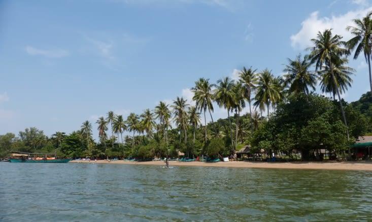 """la """"grande """"plage, celle où tout le monde débarque"""