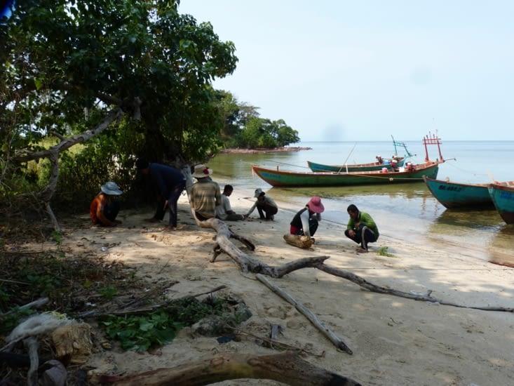 la plage des pêcheurs