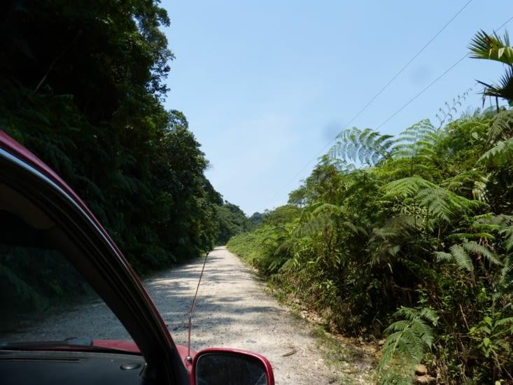 en route pour Pimpilala par une piste