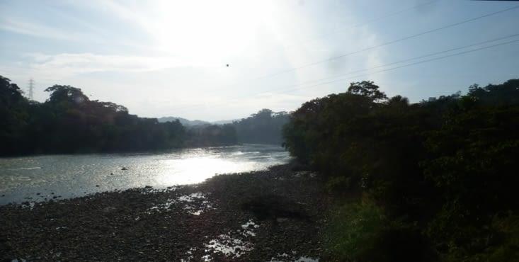 le rio Napo , affluent de l'Amazone