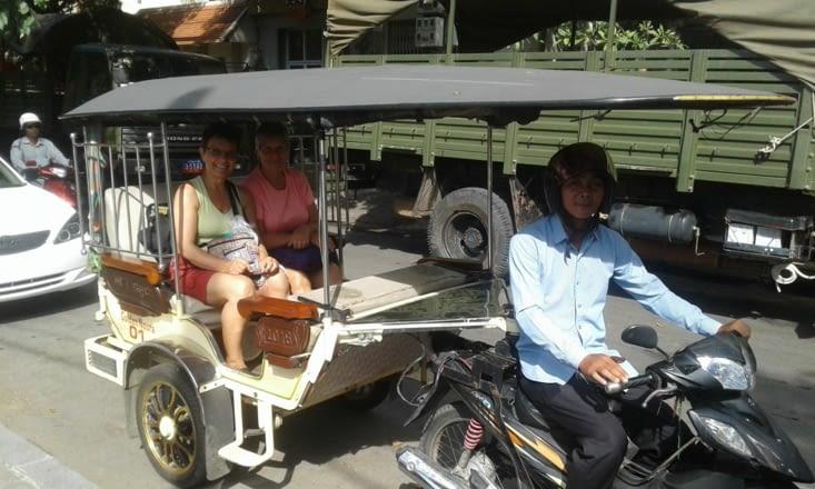 notre première sortie de Phnom Penh