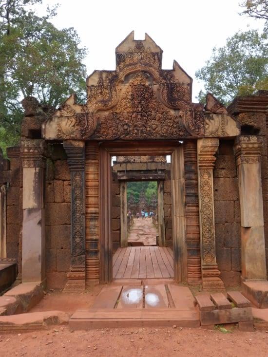 temple de Banteay Srey (la citadelle des femmes)
