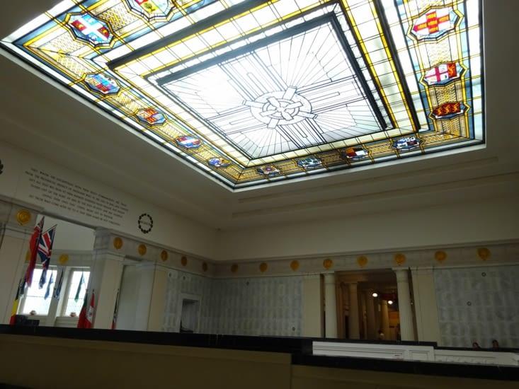 L'intérieur du muséum, très beau bâtiment