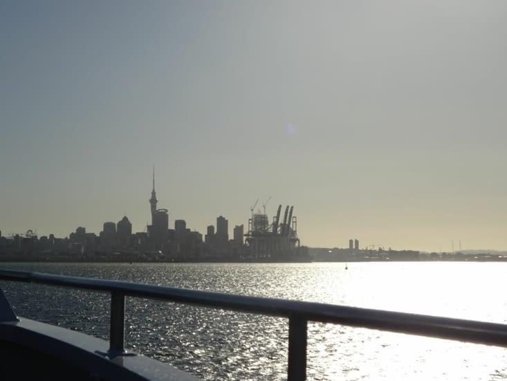Arrivée sur Auckland