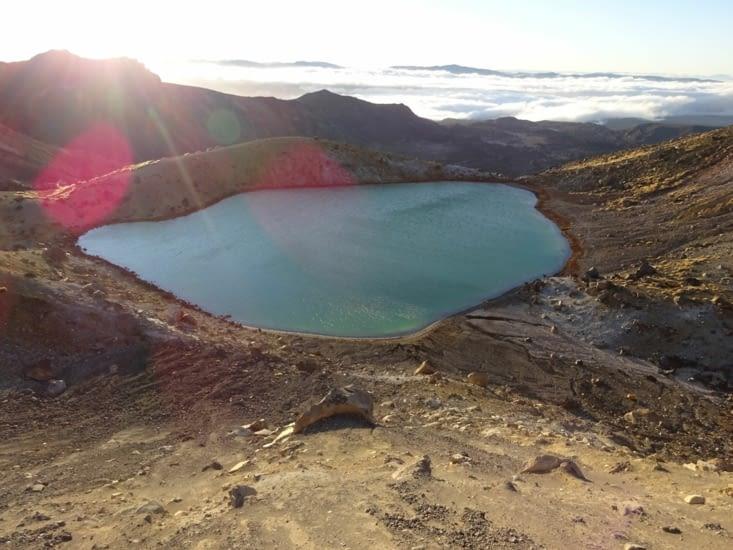 Le lac d'émeraude