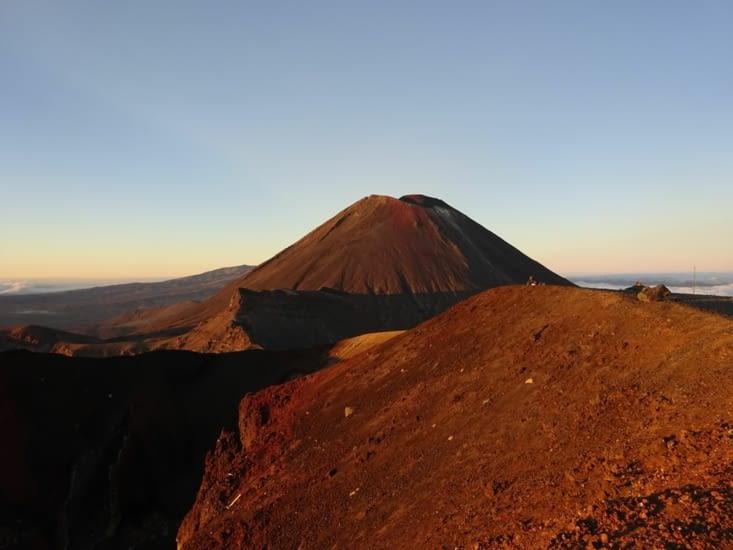 Le Ngauruhoe vue du red crater