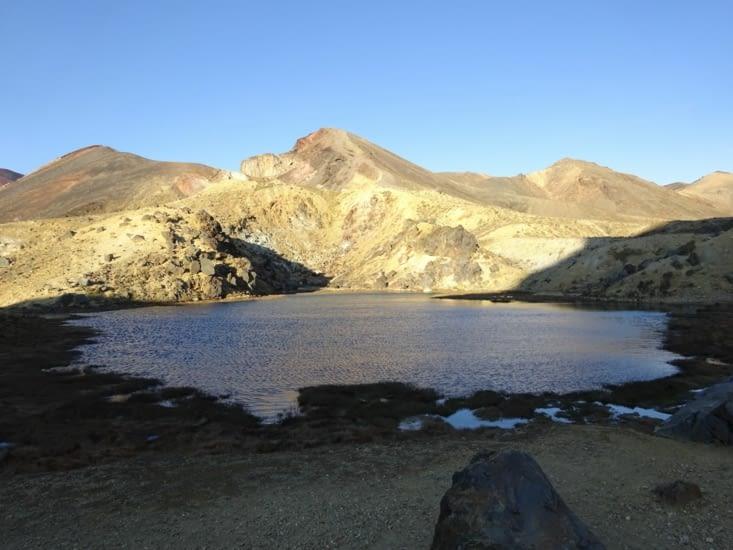 Les paysages ne sont fait, presque, que de minéraux ..