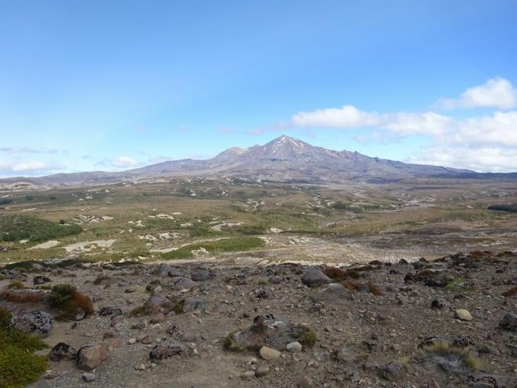 Vu sur le mont taranaki (un autre volcan)