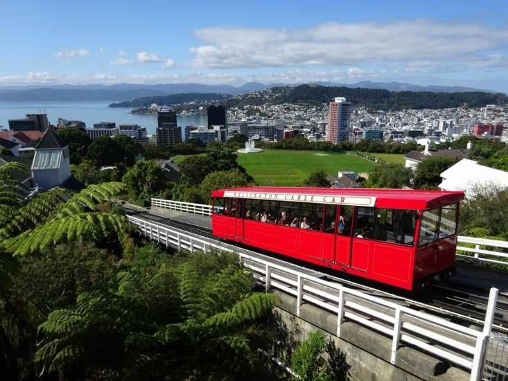 Le cable car, mytique de Wellington