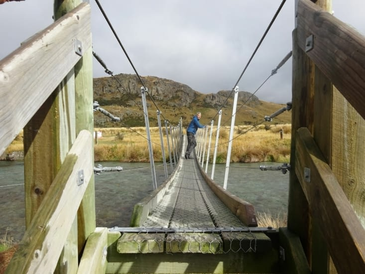 Un beau pont suspendu