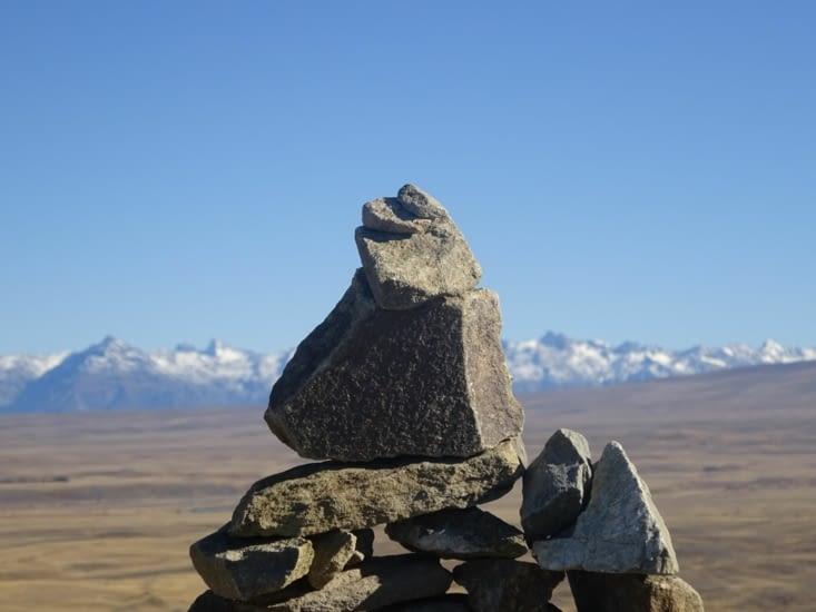 Les cairn, les montagnes ...