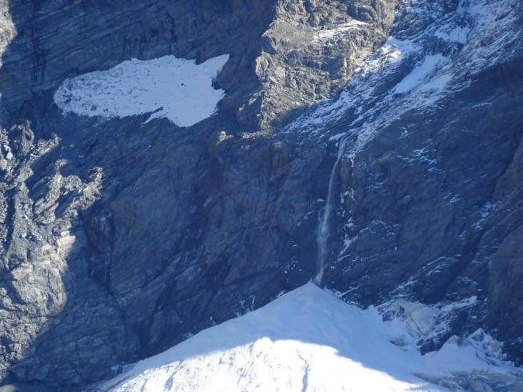 Les glaciers, les cascades ...