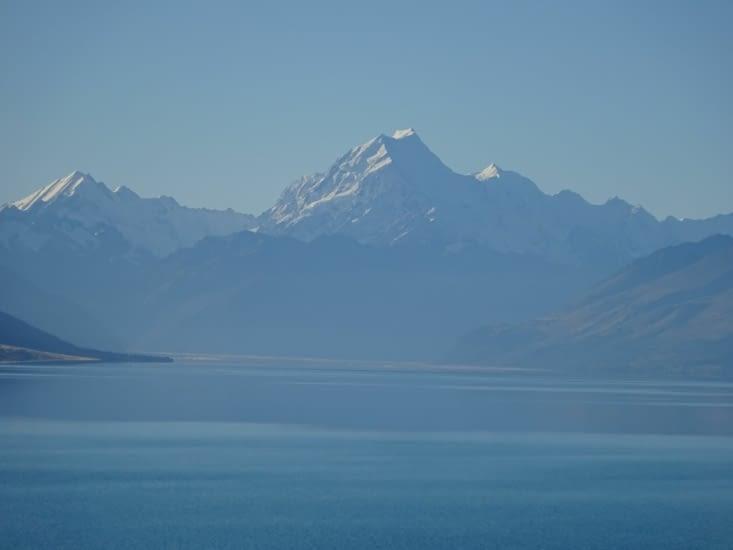 Mont Cook, depuis le lac Pukaki
