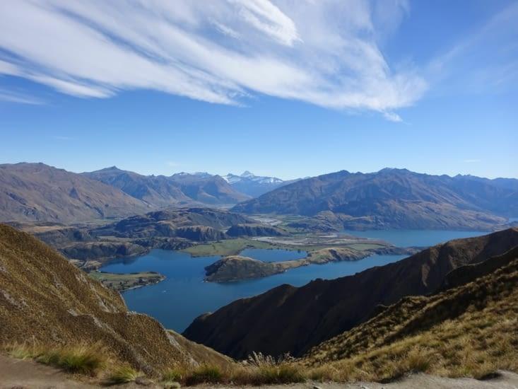 1ère vue sur le lac