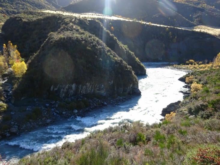 Belle rivière et le soleil !