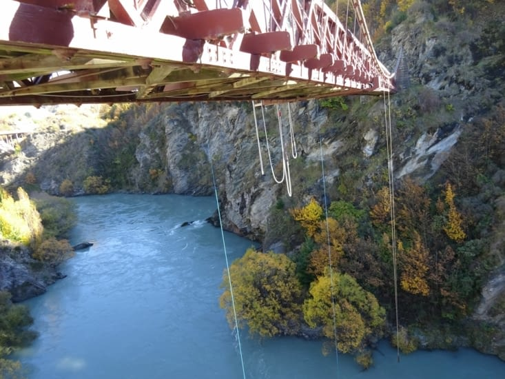 Bungy bridge !