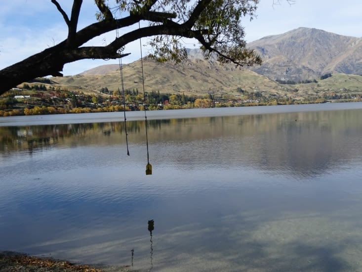 Le lac d'Arrowtown