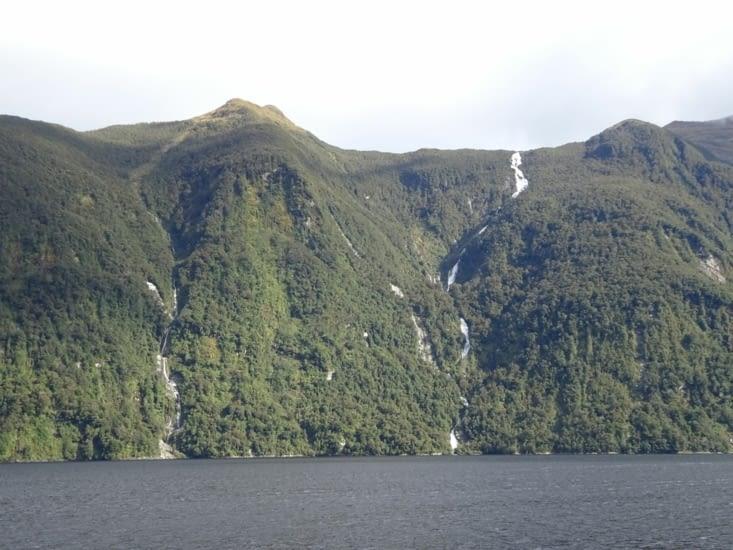 Les belles cascades des fjords