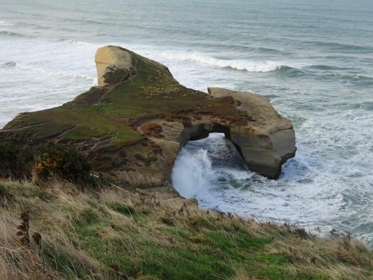 Petit arrêt à tunel beach : magnifique !!