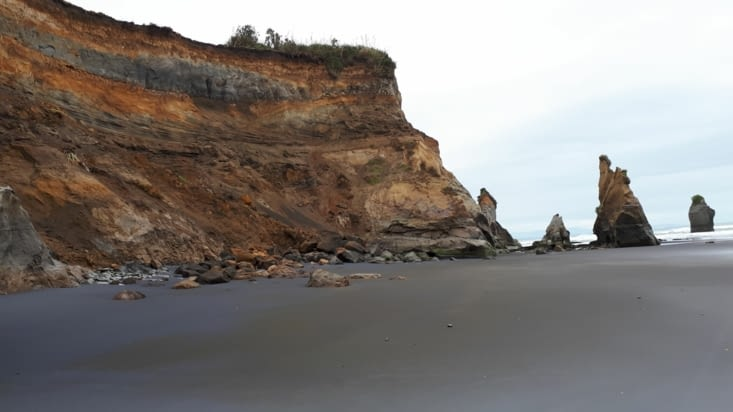 Impressionnés par la roche