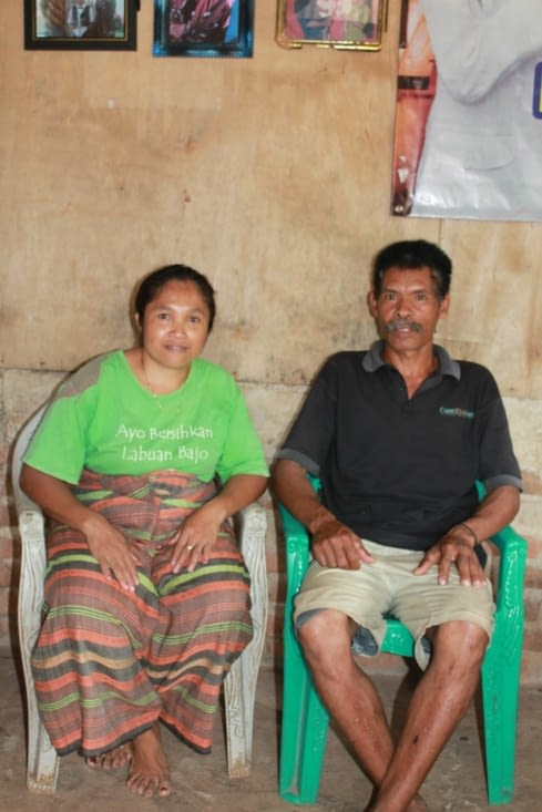 nos hôtes , famille Manggarai