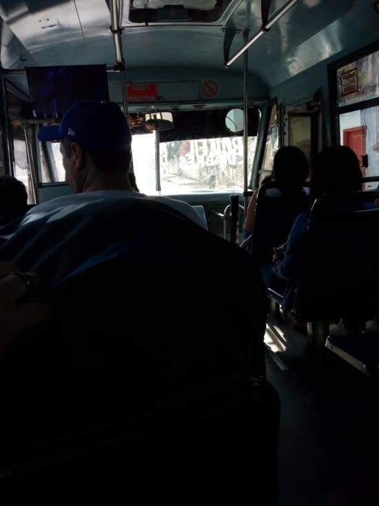 Bus  local de Cancun